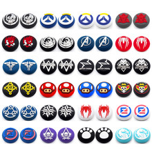 Thumb Stick Grip Cap Soft Silicone Thumbstick Joystick Cover For Sony Playstation5 PS5 PS4 PS3  XBOX For Switch NS Grip Caps