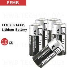 10 шт./лот EEMB ER14335 2/3AA 3,6 В 1650 мАч литиевая батарея бренд