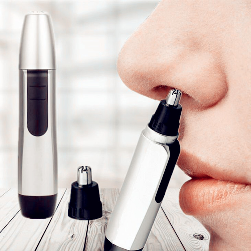 1 Pc New Arrivals Electric Nose Hair Trimmer Ear Face Clean Trimmer Razor Removal Shaving Nose Face Care Kit For Men And Women
