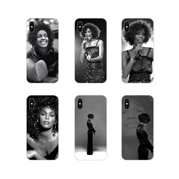 For Apple iPhone X XR XS 11Pro MAX 4S 5S 5C SE 6S 7 8 Plus ipod touch 5 6 Wholesale Sexy Singer Whitney Houston Accessories Case image