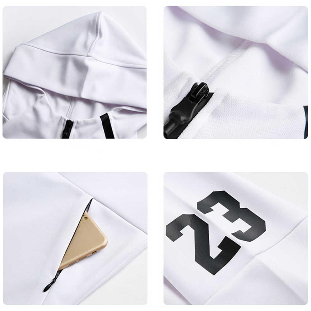 גברים 2PCS סטי אופנה אימון כושר T-חולצה + מכנסיים חליפות ריצה ספורט סטי חליפות מהיר יבש סטים בגדי ספורט רצים