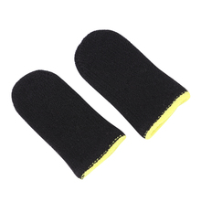 2pcs Breathable Game Controller Finger Cover Sweat Proof Thumb Sleeve Sweat Proof Thumb Cover For PUBG Mobile Game sleeve
