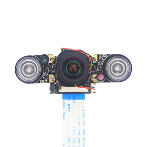 Image 5 - Raspberry Pi 4 IR CUT Camera Night Vision Focal Adjustable 5MP Fish Eye Auto Switch Day Night for Raspberry Pi 3 Mode B+/4B
