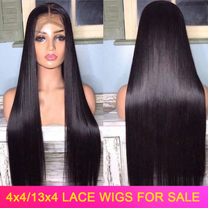 Lace Front Human Hair Wigs Straight Bob Wigs Human Hair Closure Wig 150% Peruvian Remy Hair Natural Black Frontal Wigs For Women