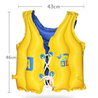 Baby Kid Float Inflatable Swim Vest Boating Survival Safety Jacket Water Swimming vest Life Jacket Aid for 3 6 years old