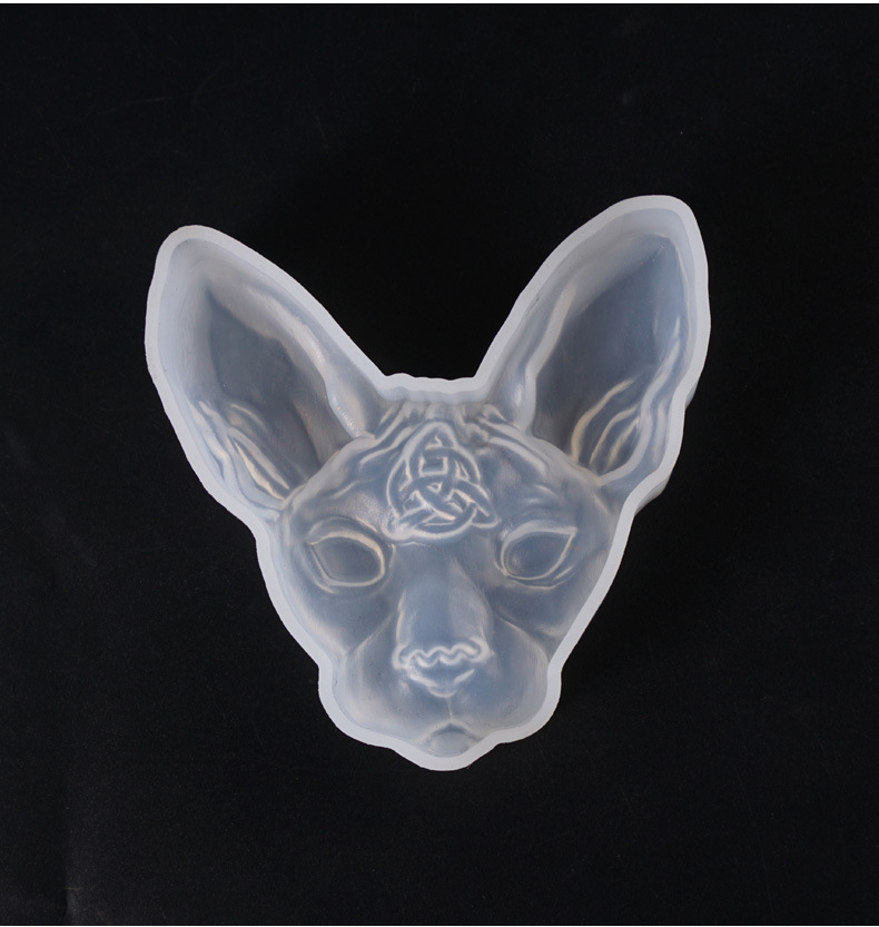 1PC Devil Cat Shaped Silicone Jewelry Molds DIY Dried Flower  Bastet Bast Bilus Jewelry Tools UV Epoxy Resin Mold Popular