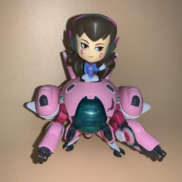 13cm Overwatch Dva D.Va Action Figure Toys Game Doll Gift