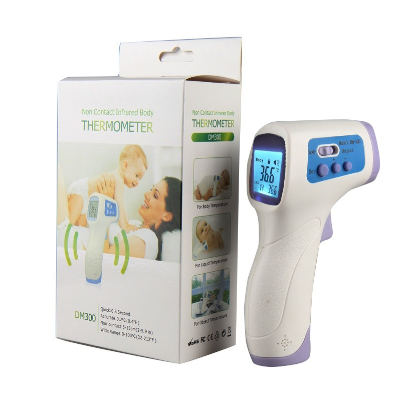 Muti-funktion Infrarot <font><b>Digital</b></font> <font><b>Thermometer</b></font> Nicht-kontakt <font><b>Digital</b></font>-<font><b>Thermometer</b></font> für/kinder/Drop Verschiffen image