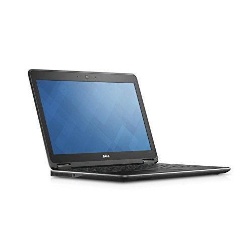 DELL E7250 Portatil 5TH (Intel  I7-5600U-2600, Webcam, 4GB RAM, Disco 128 MSATA 12,5'' Windows 10 PRO)-Negro (Reacondicionado)