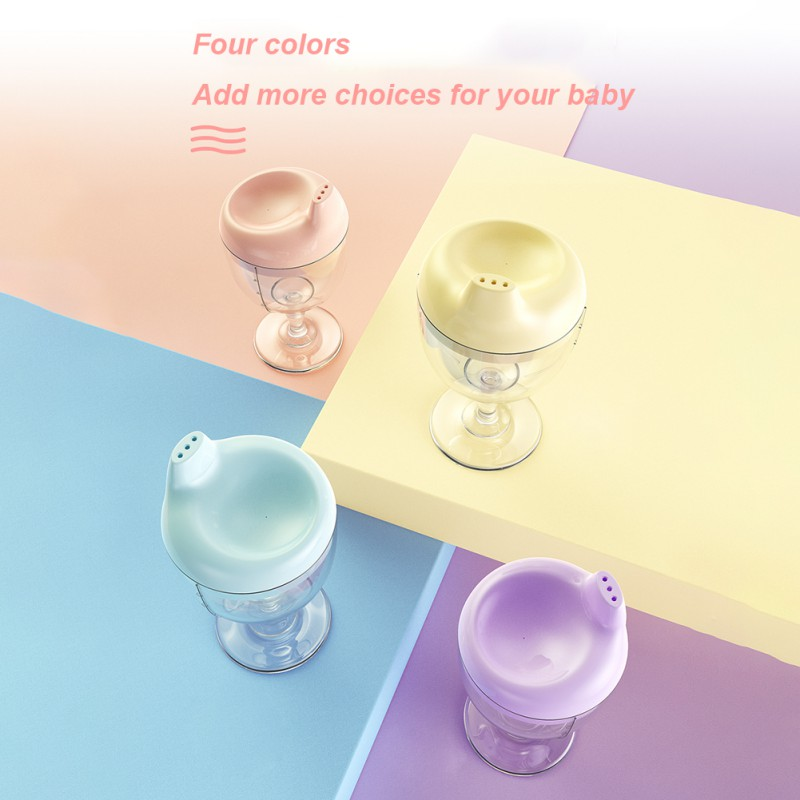 150ML Baby Goblet Water Bottle Infant Cups With Duckbill Mouth Shape For  Feeding Baby Training