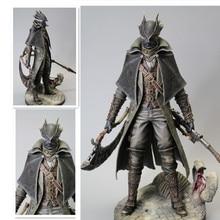 חדש משחק Bloodborne הישן ציידים פעולה דמויות מגל מטלטלין בקנה מידה פסל אוסף של צעצוע מתנות 30cm