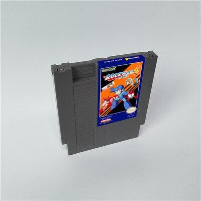 Rockman 4 minus infinity Battery Save   72 pins 8bit game cartridge