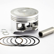 Motorcycle Engine Piston Ring Kits Pistons Set For Honda XR250 XR250L XR250R 1987 2004 Bore Size STD 73mm +25 +50 +75 +100