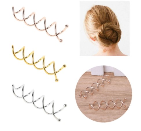 Women DIY Hair Styling Spiral Spin Screw Donuts Twist Braiders  Foam Accessories Hair Beauty Styling Tools