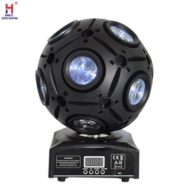 Led Magic Ball 9x12W Football Moving Head Dj Lights Beam Sharpy Stage Light For Club Events Party Disco Light