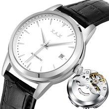 Hommes montres automatique 3 ans de garantie horloges mouvement automatique femmes montre bracelet mécanique