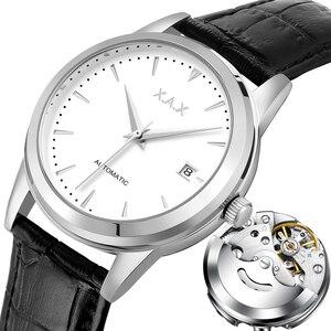 Image 1 - Hommes montres automatique 3 ans de garantie horloges mouvement automatique femmes montre bracelet mécanique