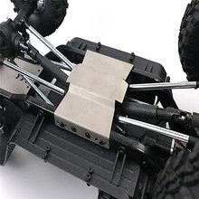 все цены на 1 set Protection Skid Plate for Redcat GEN8 RC Car Stainless Steel Chassis Armor Front Rear Protective Guard Skid Plate онлайн