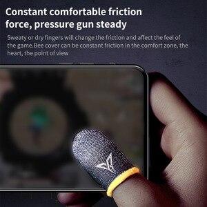Image 3 - Guantes profesionales para jugar a PUBG con el teléfono, a prueba de sudor, mangas para dedos, pantalla táctil, mangas para dedos