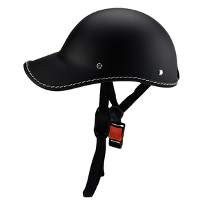 Image 4 - 1PC Motorcycle Half Face Vintage Summer Helmet Hat Cap Men Women Motorcross Moto Racing White/Black