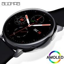 """SCOMAS 2020 Luxury Smart Watch 1.2""""AMOLED 390*390 ECG PPG"""