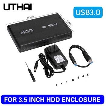 UTHAI T41 USB3.0 3,5 дюймов корпус для жесткого диска мобильный жесткий диск чехол 3,5