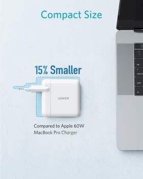 Зарядное устройство Anker USB Type-C с поддержкой быстрой зарядки 60 Вт 6