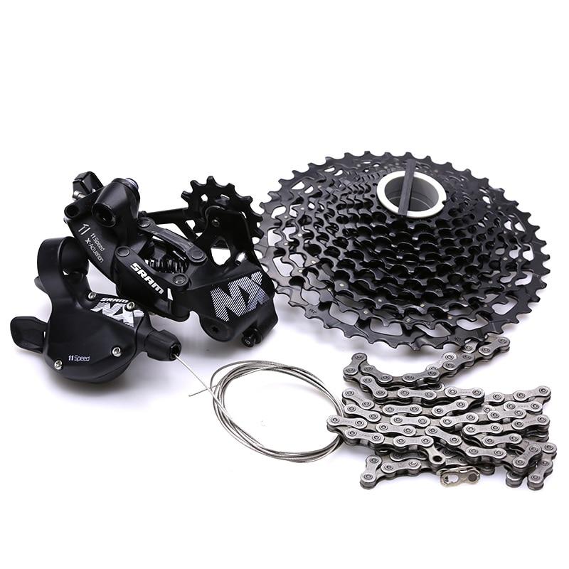 SRAM NX 1x11 11S Speed Bicycle Groupset MTB Bike Kit Shifter Lever & Rear Derailleur & Cassette & Chain