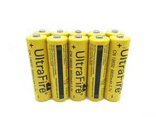 8PCS  3.7V 18650 9800mAh Battery Lithium Rechargeable Li-ion Bateria For Flashlight