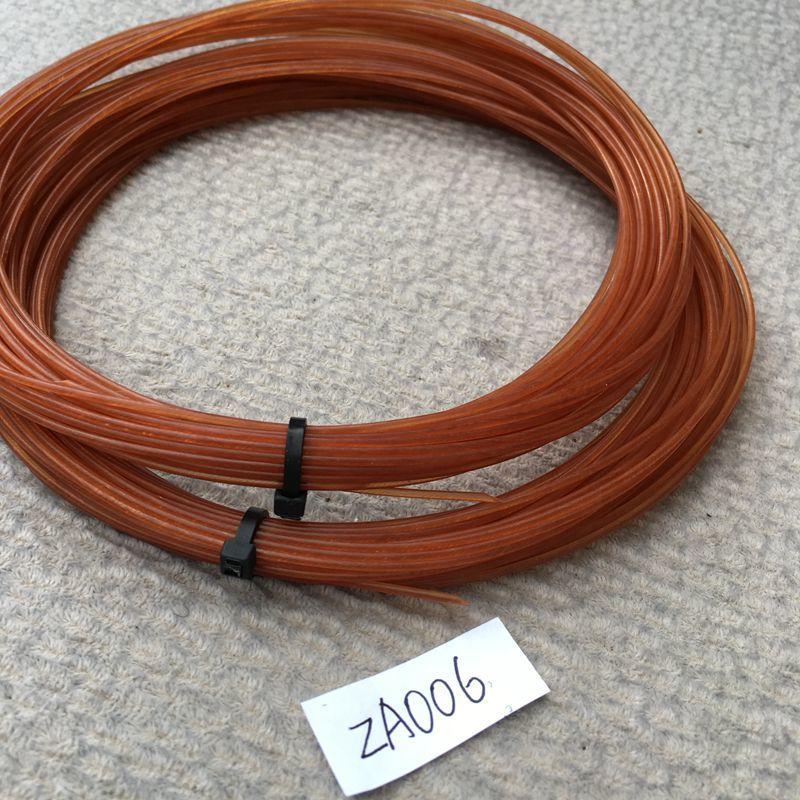 1 Pc Free Shipping Soft Feeling Wine Color Tennis Strings Nylon Tennis Strings 1.3mm String 12m/pc