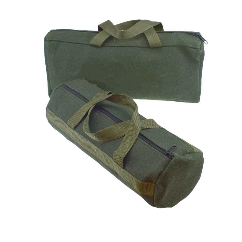 1pcs! Durable Thicker Canvas Tool Pouch For Electrical Tool Storage Organizer Portable Instrument Case Tote Bag