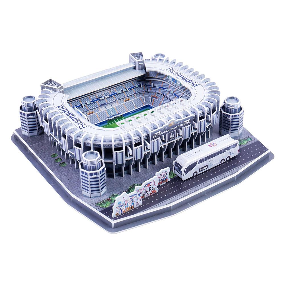Funny Paper DIY Assemble Football Soccer Stadium Model Kids 3D Jigsaw Puzzle Game Toy Gift Educational Toys For Children