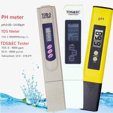 Digital Ph/TDS/ EC Meter Tester Thermometer Pen Air Kemurnian Ppm Filter Hidroponik untuk Akuarium Air Kolam Renang Monitor 40% Off(China)