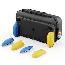 Skull & Co. Nintendo Schakelaar Case Cover Gripcase Met Vervangbare Grips En Maxcarry Case Hard Shell Opbergtas