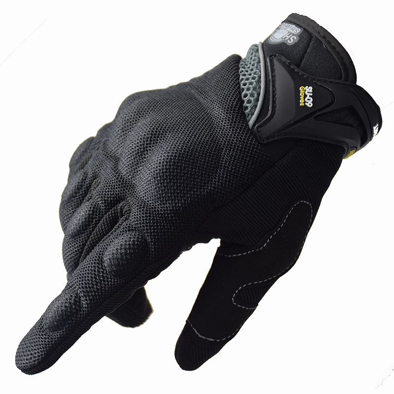 Motorcycle Riding Gloves Cycling Gloves Full Finger Motocross Motorbike Gloves luvas da moto Touch Screen Black M-XXL