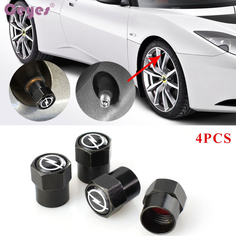 Ceyes Car Styling Auto Caps Case For Opel Astra H G J Corsa Insignia Antara Meriva Zafira Car-Styling Car Badge Accessories 4pcs