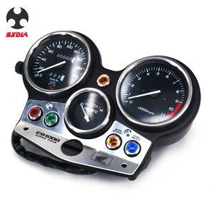 Image 3 - Motorrad Geschwindigkeit Meter Lcd computer geschwindigkeitsmesser grüne Tachometer Messgeräte Für HONDA CB1000 CB 1000 1994 1995 1996 1997 1998 180version
