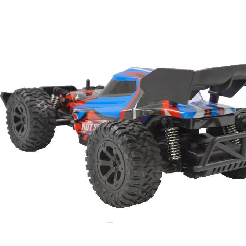 Venta caliente 1:14 coche de Control remoto K14 15-20kmh coche de alta velocidad todoterreno 2,4 Ghz 2WD RC coche de juguete regalo de Navidad de niños