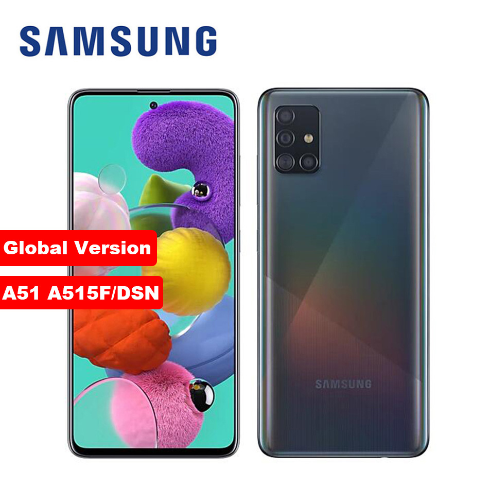 "2020 Global Version Samsung Galaxy A51 A515F/DSN Mobile Phone 128GB ROM 8GB /6GB RAM 6.5"" 1080x2400 48MP 4000mAh NFC Smartphone|Cellphones| - AliExpress"