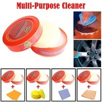 Natural Multi-Purpose Cleaner Brilliaire Polisher +1/2PCS Multi-Cleaning Rag/4PCS Cleaning sponge Combination
