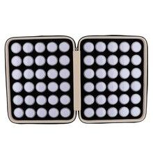 60 adet Diamonds Mini ekran kutusu taş saklama kutusu taşınabilir PU deri taşıma çantası