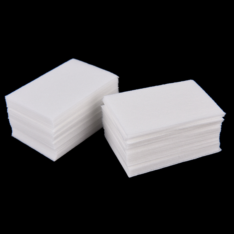 600pcs-700pcs/bag Nail Cotton Wipes UV Gel Nail Tips Polish Remover Cleaner Lint Paper Pad Nail Art Cleaning Tool