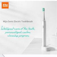 Xiaomi Mijia T500 โซนิคไฟฟ้าแปรงสีฟันทำความสะอาดฟัน Oral Care แปรงสีฟัน App ควบคุมกันน้ำสำหรับผู้ใหญ่การสั่น...