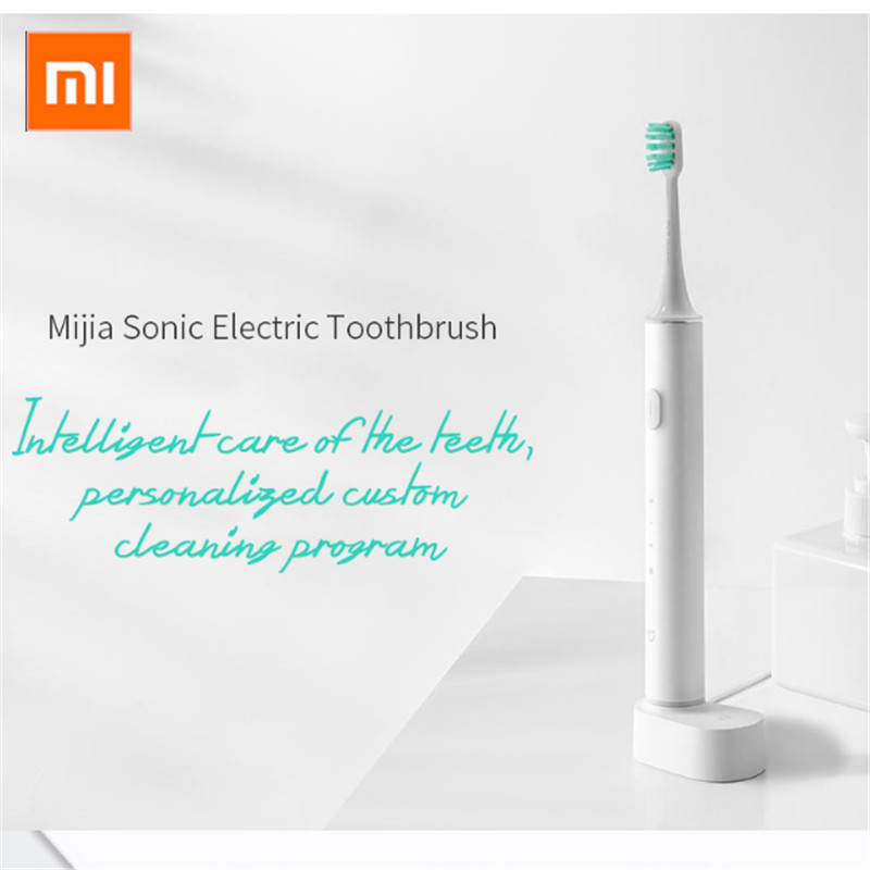 Xiaomi Mijia T500 Sonic Electric Toothbrush Clean Teeth Oral Care Toothbrush App Control Waterproof For Adult Vibration Timer image