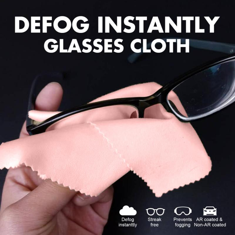 5pcs Anti-fog Glasses Cloth Glasses Wipe Cloth Glasses Cloth Cleaning Cloth Prevents Lens From Fogging Up Cleaning Cloths Tools