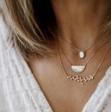 цены Bohemia Leaf Mulitlayer Necklace With Zinc Alloy For Women Alloy Necklace Pendant Necklace Chain Necklace Wholesale