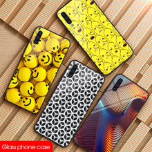 Glass Phone Case For sumsung Note 8 9 10Plus S8 S9 S10E Phone Case DIY For Galaxy A10 20 30 40 50 60 70 80 Lovely wallpaper Case(China)
