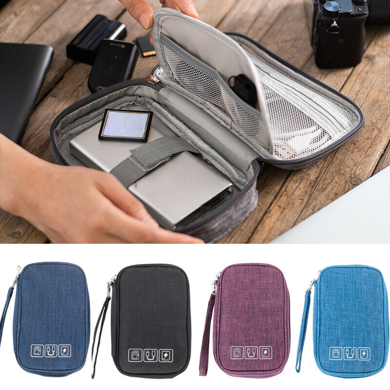 2020 HOT Waterproof Travel Storage Bag Electronics USB Charger Case Cable Organizer Portable Multifunctional Storage Bag