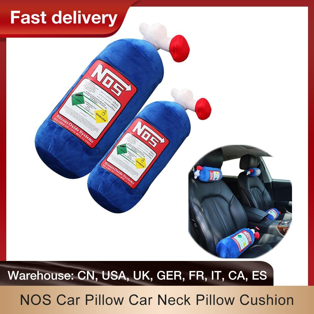 Подушка для автомобиля NOS, подушка для шеи автомобиля, подушка для шеи, подушка с эффектом памяти, украшение для автомобиля, спинка для шеи, д...