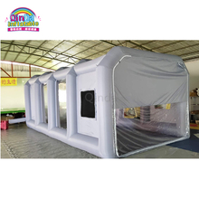 8M Length Used Inflatable Spray Booth, Portable Paint Booths, Inflatable Spray Booth For Car Painting